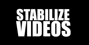 Sony Vegas Pro: Stabelize Video Footage