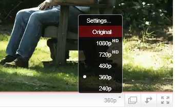 """What is the """"Original"""" quality option on YouTube videos ..."""