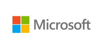 Photoshop PSD Template: Microsoft Logo